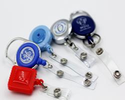 badge reel or reelstraps