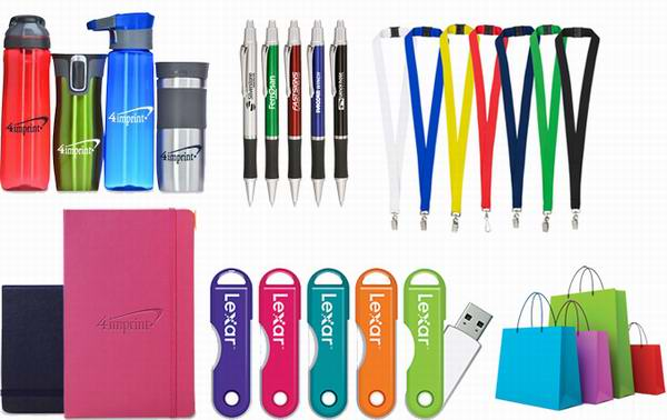 different kind of promotional products