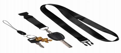 badge reel with keys